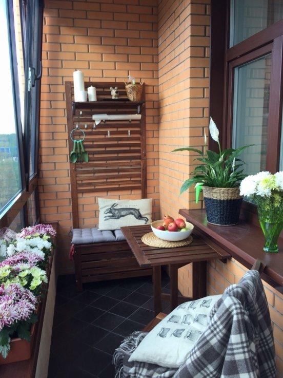"""Идея декора балкона от икеа"""" - карточка пользователя svet.vo."""