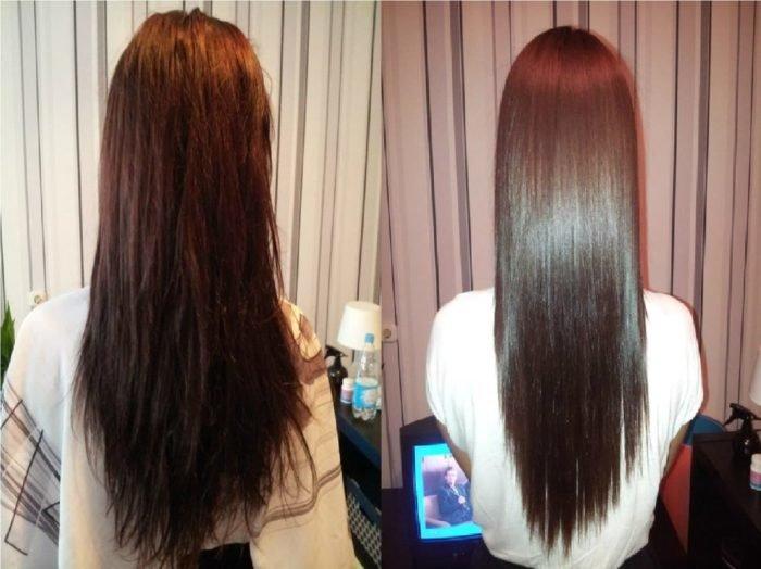 Как в домашних условиях сделать ламинирование волос видео