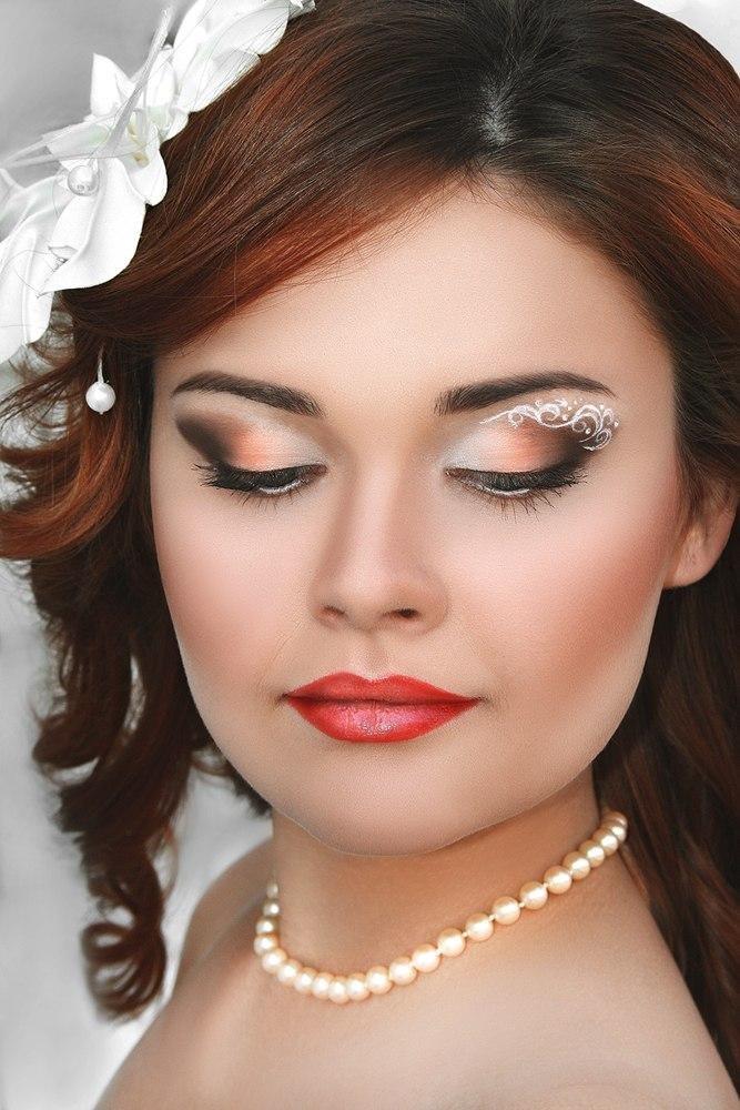Профессональный макияж а свадьбу