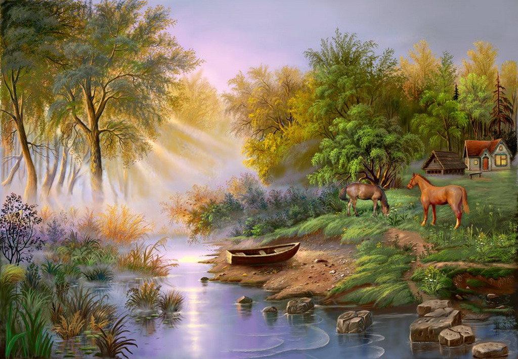 Картинки про природу из сказок
