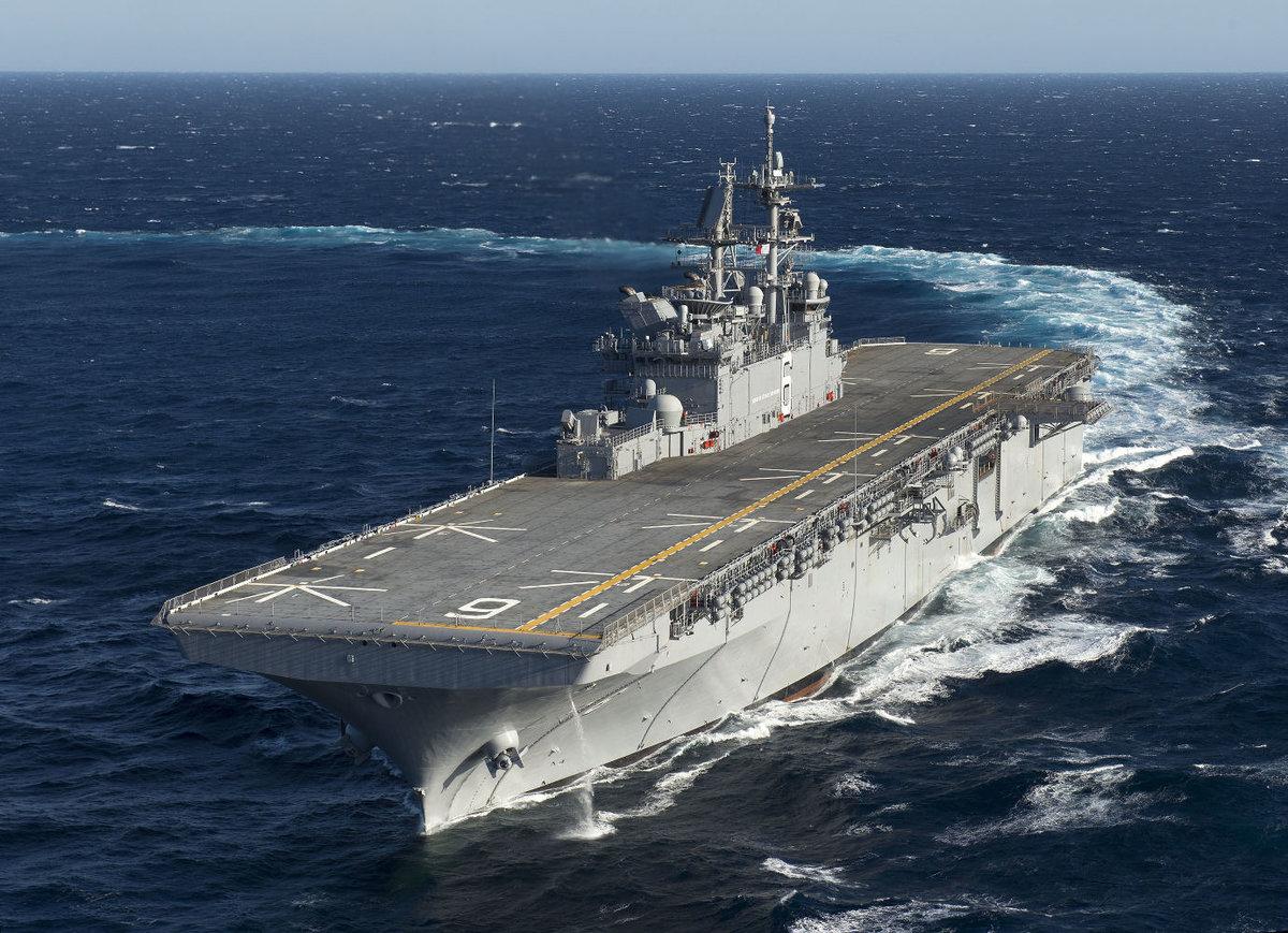фото десантные корабли сша его