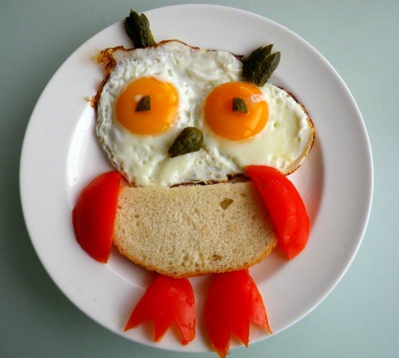 Картинка завтрак смешной