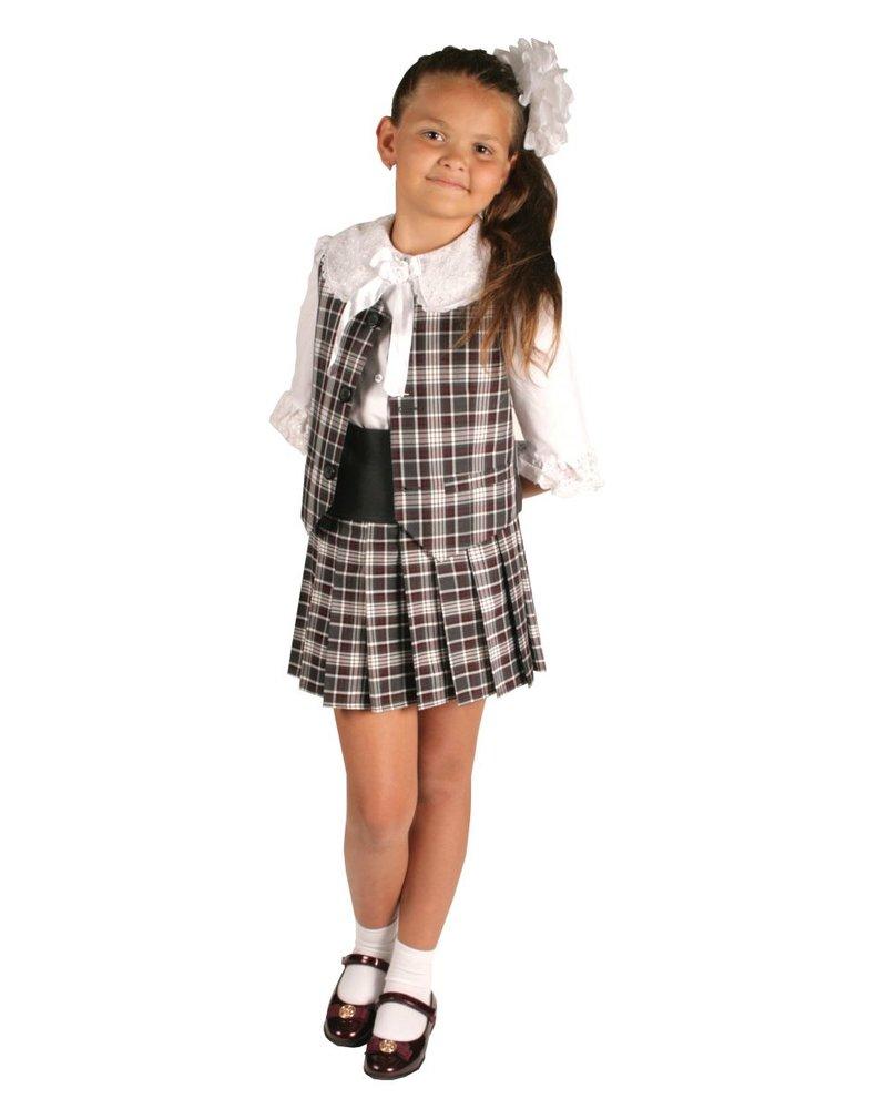 черно-серая школьная форма