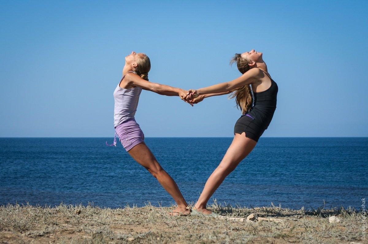 Картинки для йога челленджа на двоих, письма