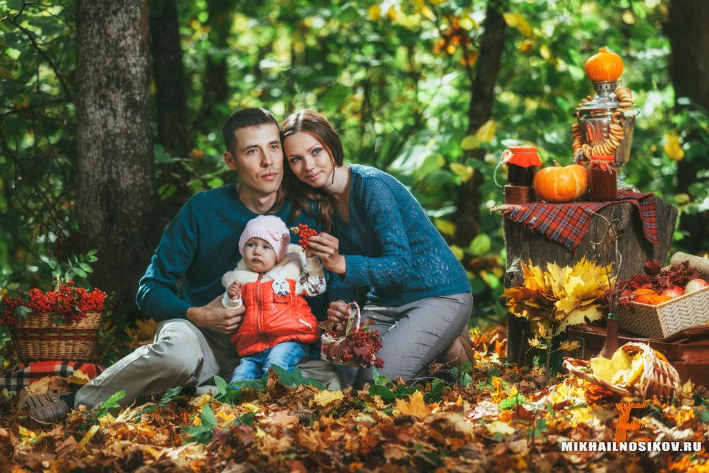 осенние фото в лесу семьей зелень без химии
