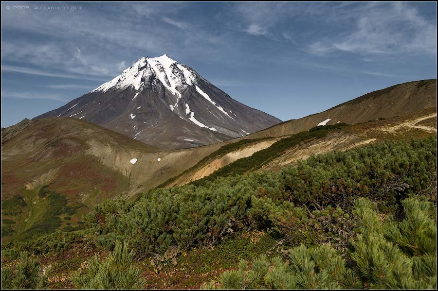 фотографии вилючинского вулкана на камчатке можно