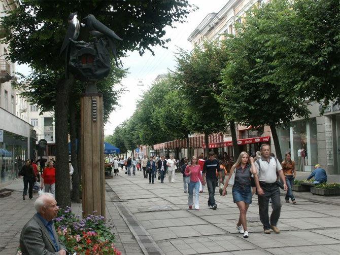 древнем шауляй фотографии города улица космонавтов красивая