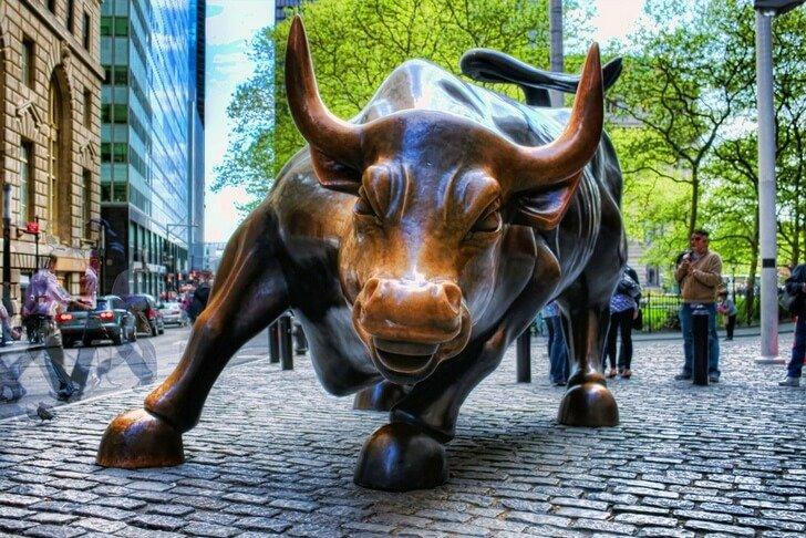 бык на уолл стрит адрес Артикул: 21436529 Актив