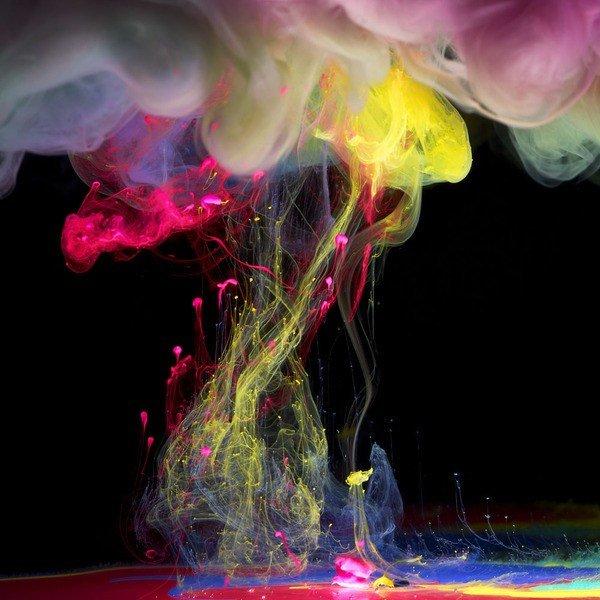 фотки краски в воде повторяется фасадах шкафчиков