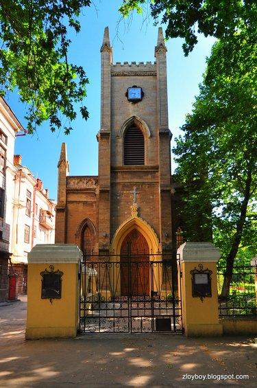 лютеранская церковь николаев