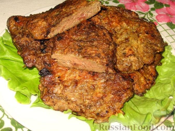 Отбивные мясные фото рецепт пошаговый