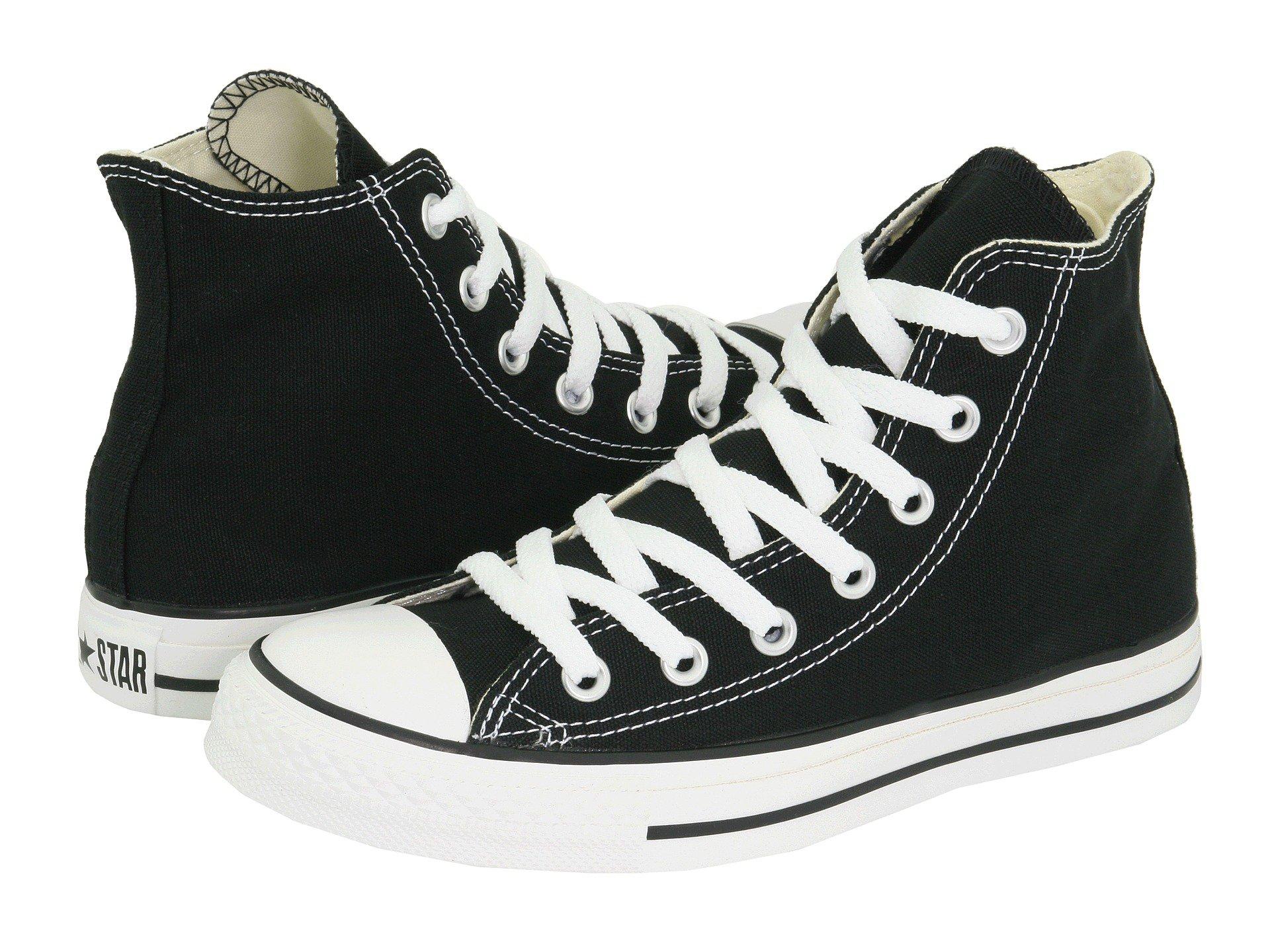 Кеды Converse Chuck Taylor All Star High (black white) - 08Z