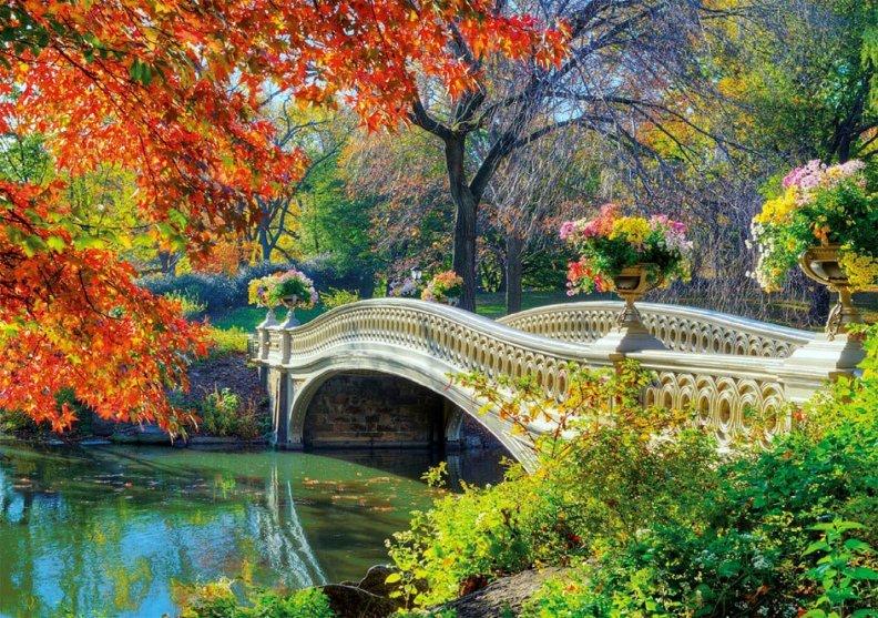 Красивые, открытка мостик