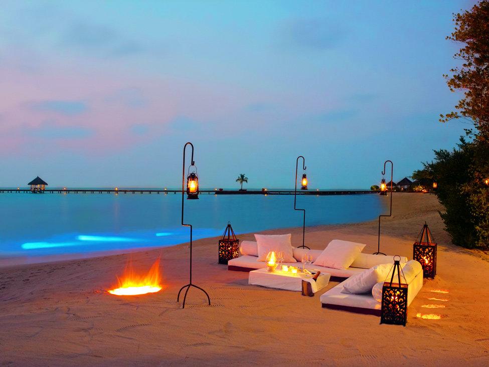 фото ужин море песок океан можно выращивать