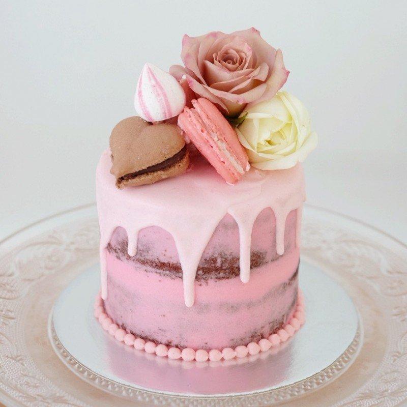 Свадебные торты без мастики в москве