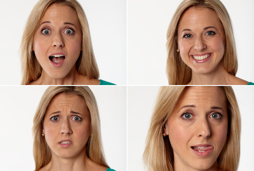 Differences in facial expressions — img 1