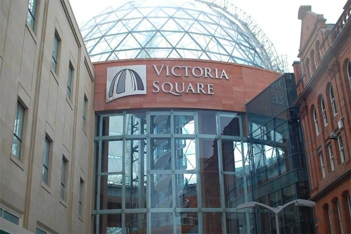 Самый дорогой строительный проект за всю историю Белфаста – торговый центр «Victoria Square»