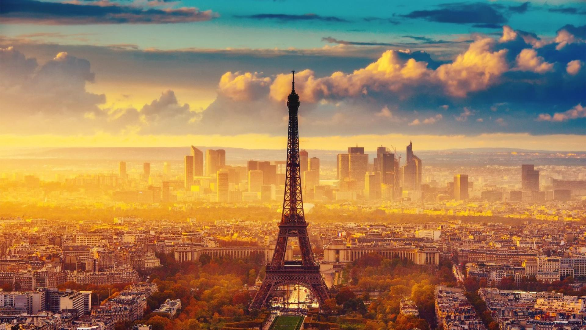 """""""eiffel tower sunset wallpapers hd resolution"""" — card from user KKorastylev in Yandex.Collections"""
