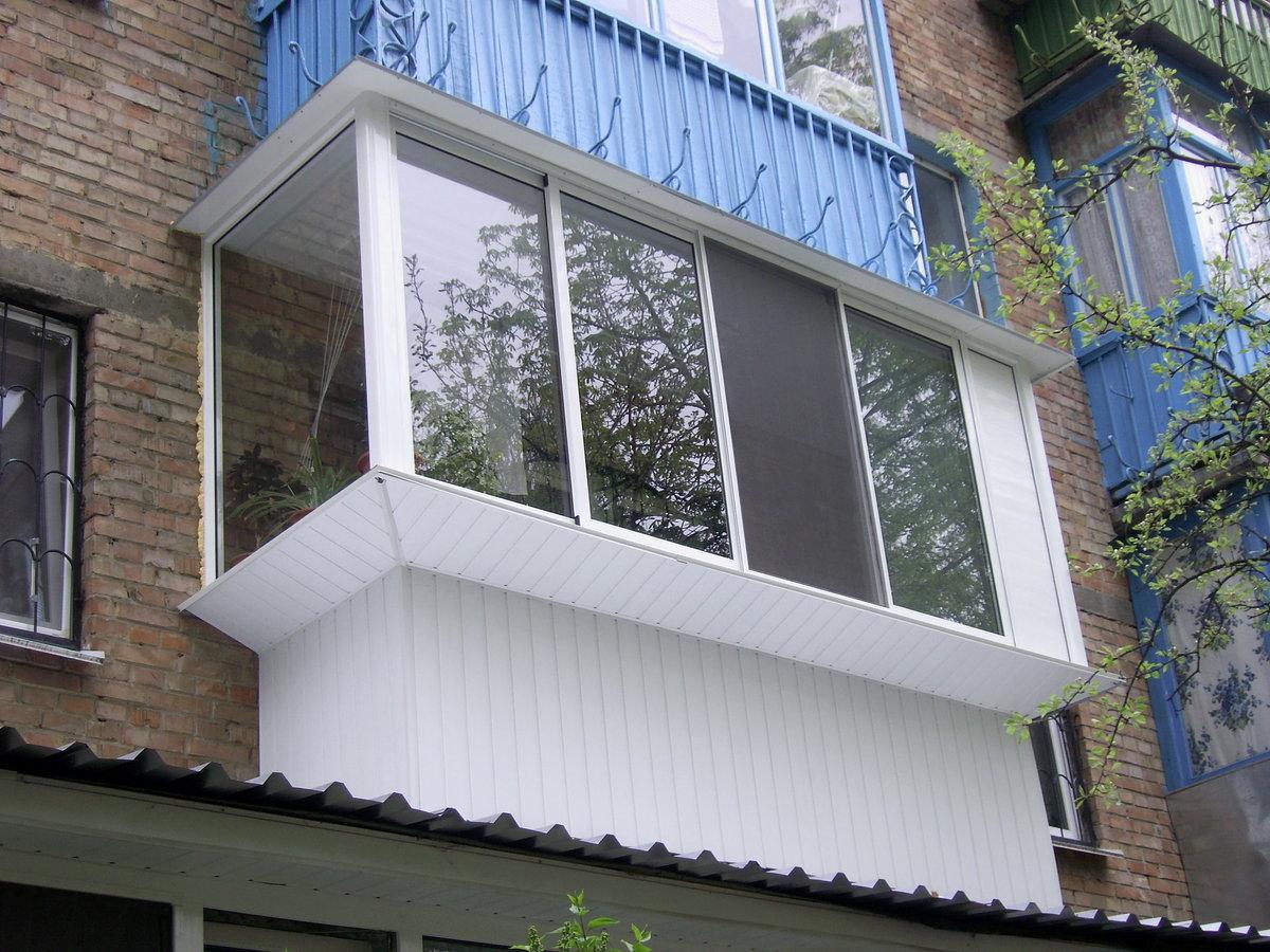 Изготовление балконов под ключ.