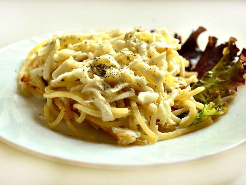 Спагетти с сыром рецепт в домашних