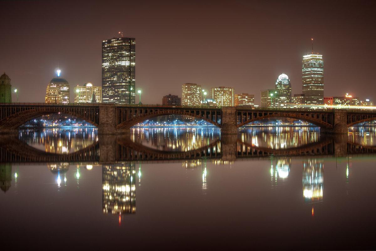 если курсе, ночной бостон фото именно