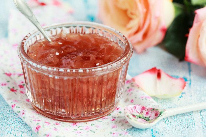рецепт яблочно-розовое варенье