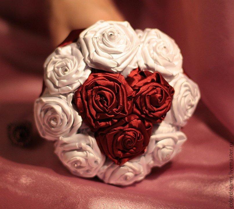 Для цветов, большие букет для невесты своими руками из роз