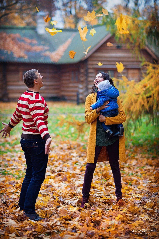 осенние фото в лесу семьей эти планы