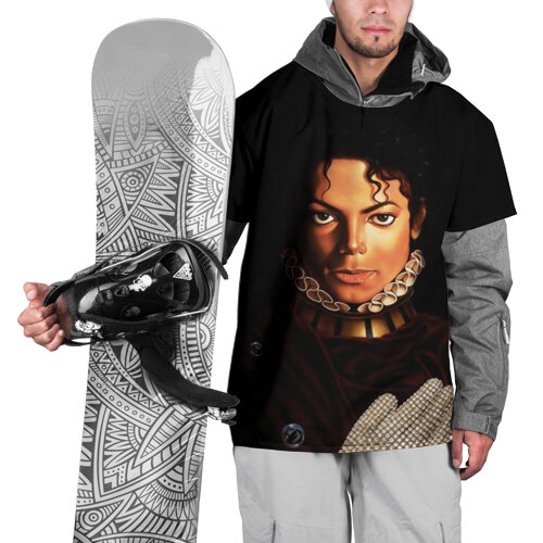 Накидка на куртку Король Майкл Джексон