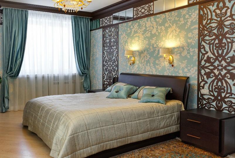 шторы в спальне текстильный дизайн интерьера спальни на заказ в