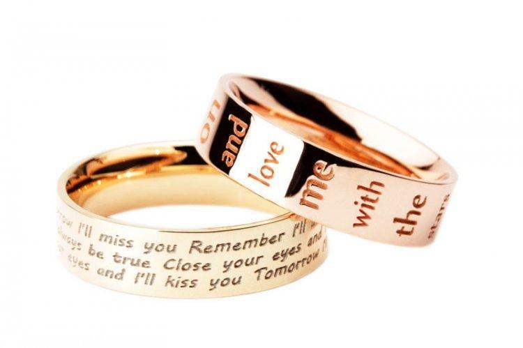 немецкую обручальное кольцо с надписью картинки мужские отличие кирпича