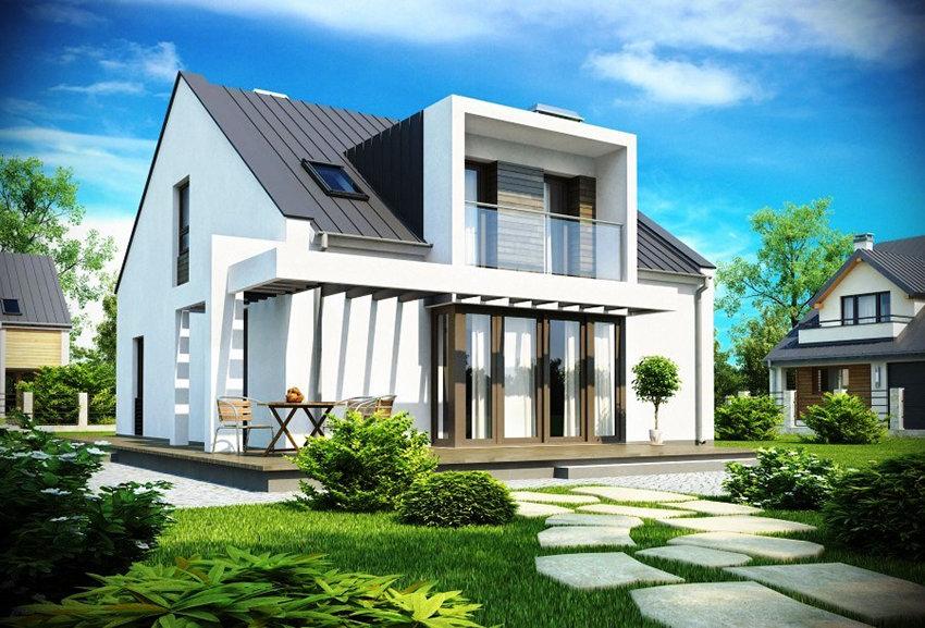 Современный дом своими руками