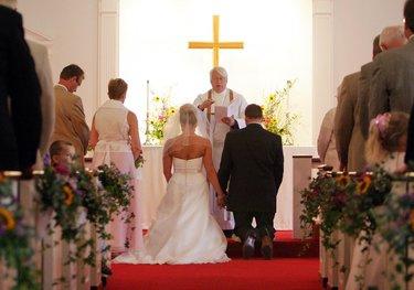 католическая свадьба