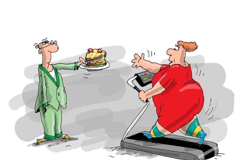 Смешные картинки спорт диета