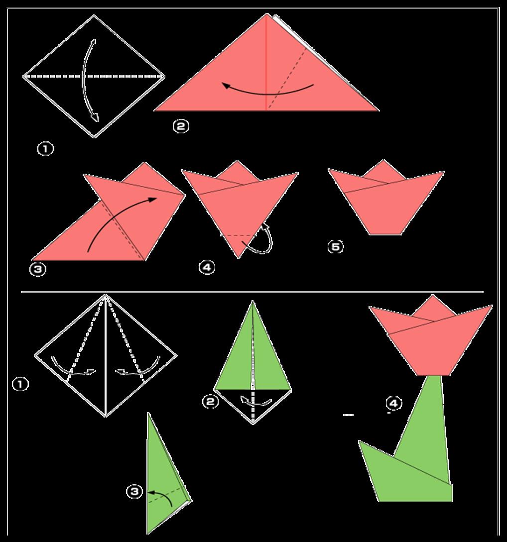 поделка из оригами пошаговая инструкция так эротических романах