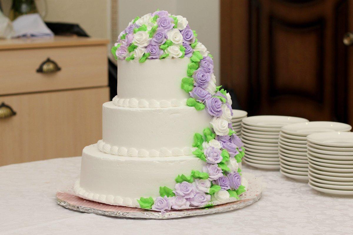 Картинки свадебные торты из крема фото
