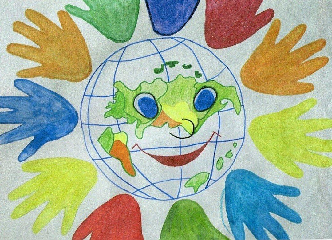 Картинки про мир глазами детей