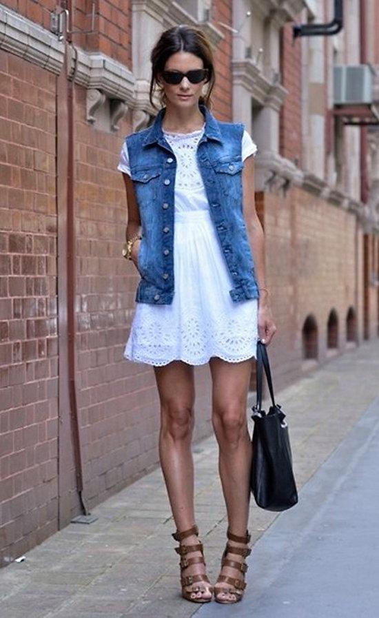 5644cd615be Если летний вечер выдался прохладным накиньте сверху легкий пиджак ...