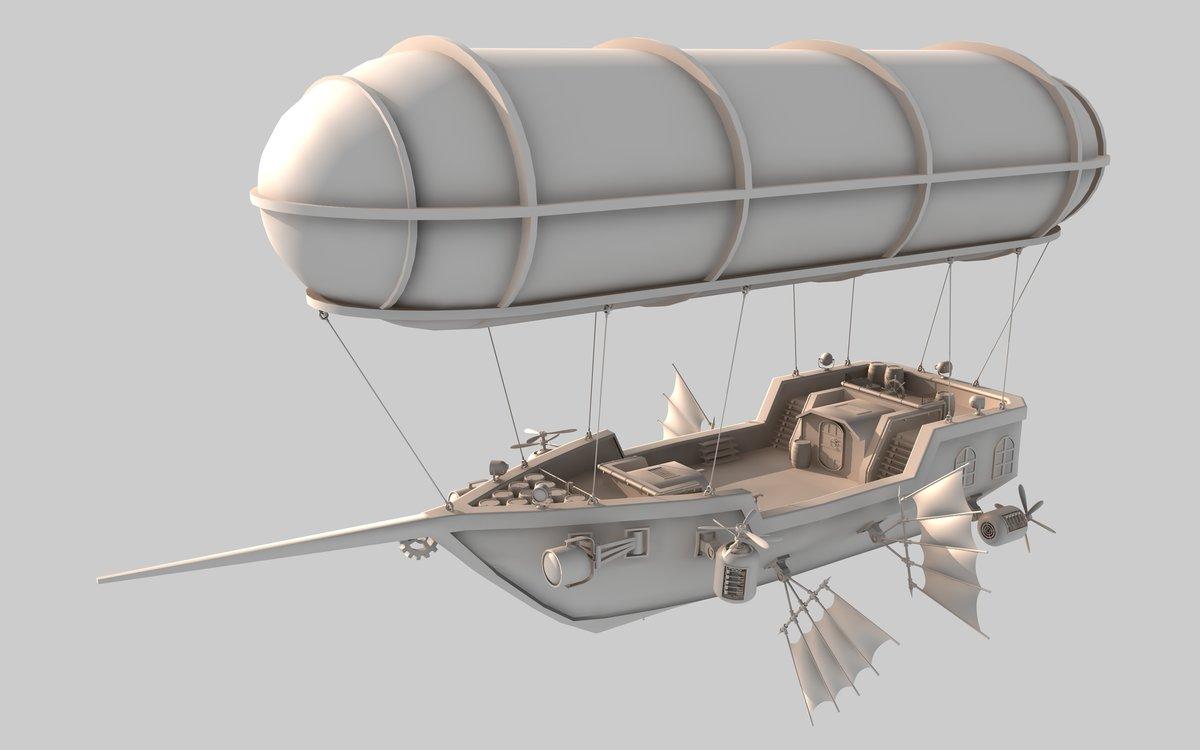 Воздушные корабли Обзор дирижаблей