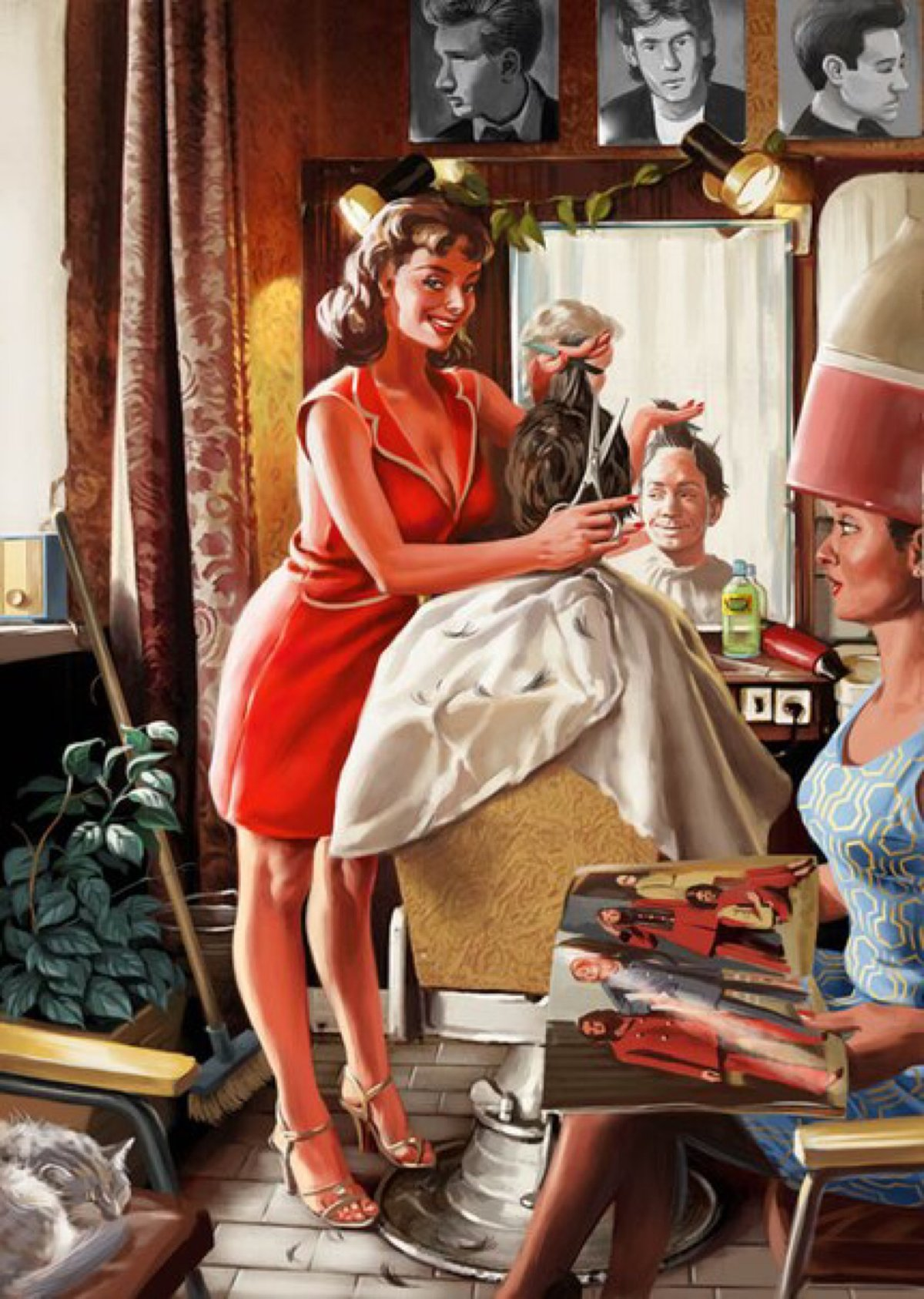 Картинки приколами, советский стиль открытки