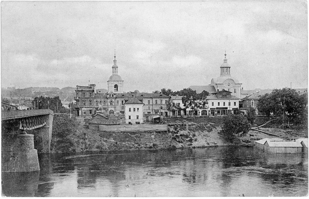 Старые открытки смоленск