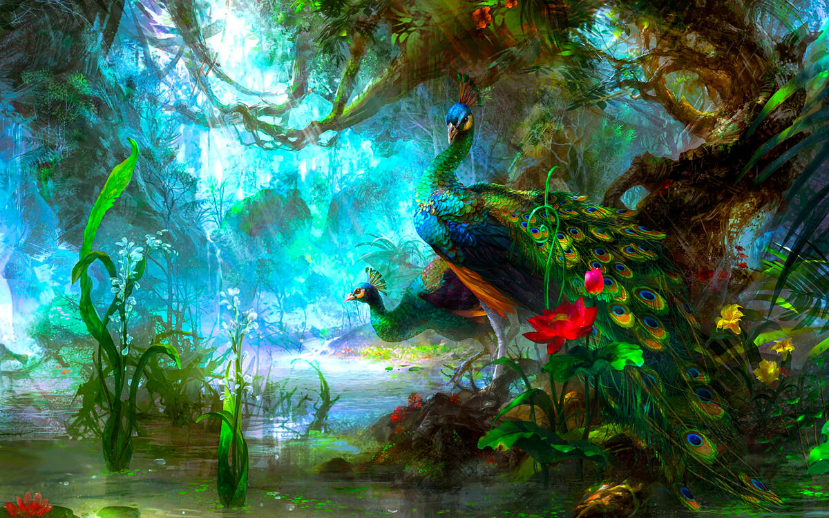 Картинки волшебные и необычные