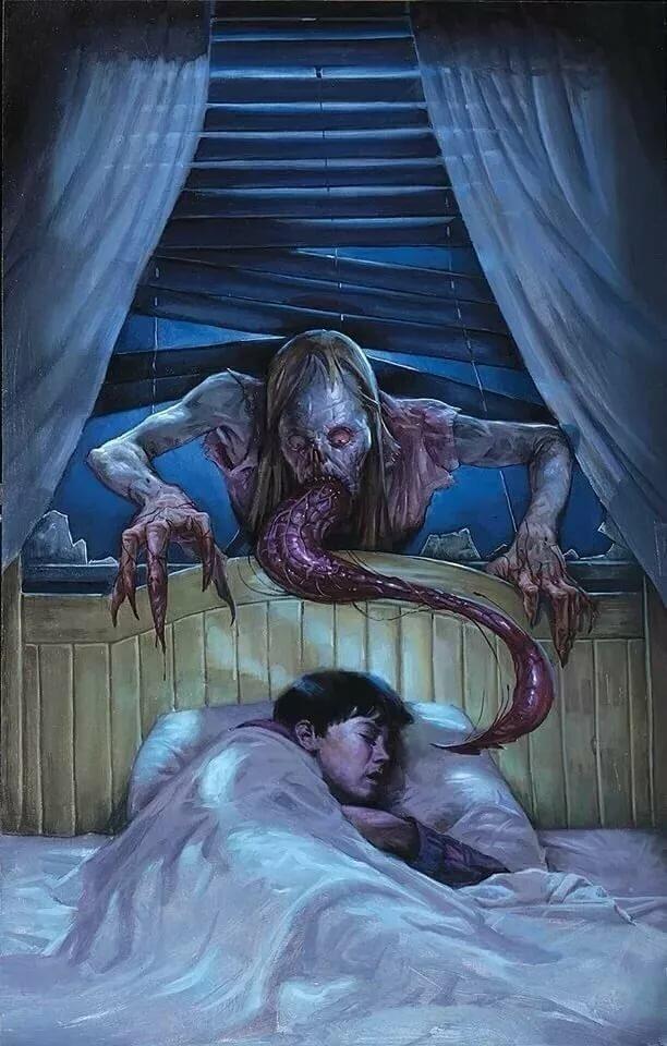 тот картинка сон чудовищ посещением связаться