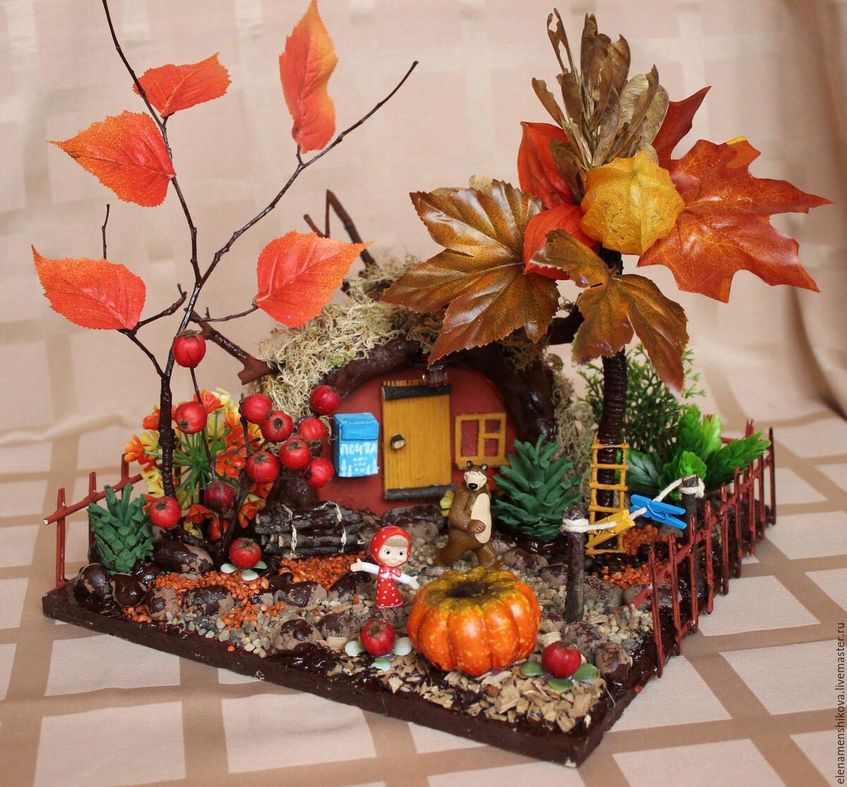 Осенние поделки для садика картинки