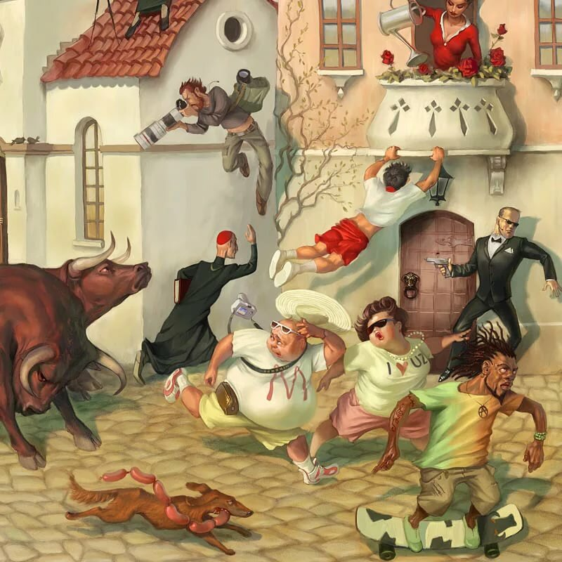 рисунки вальдемара казака