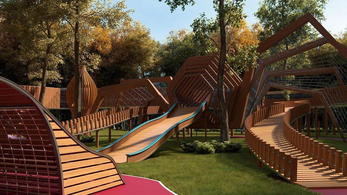 3d Park Design