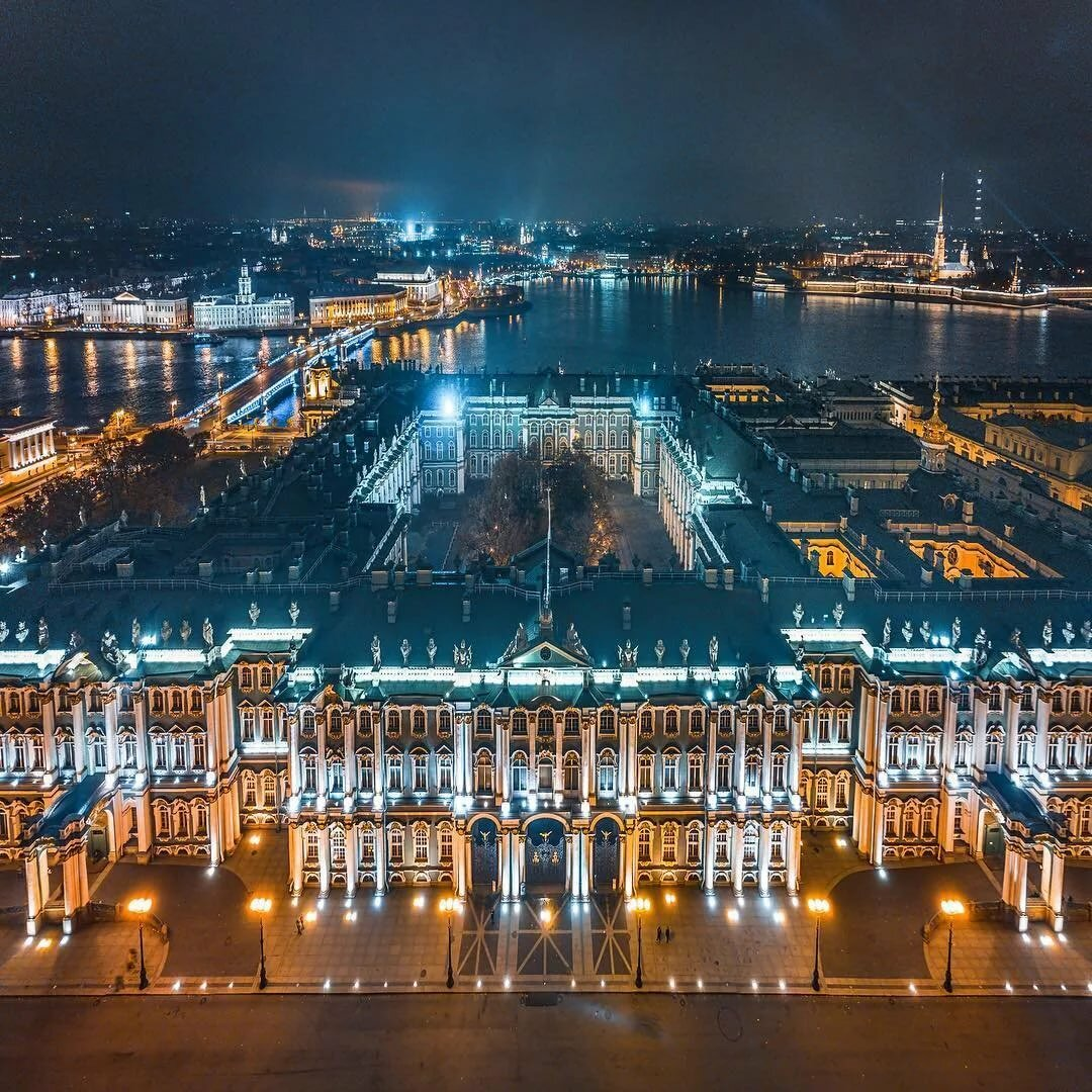 Картинки с санкт-петербургом ночью