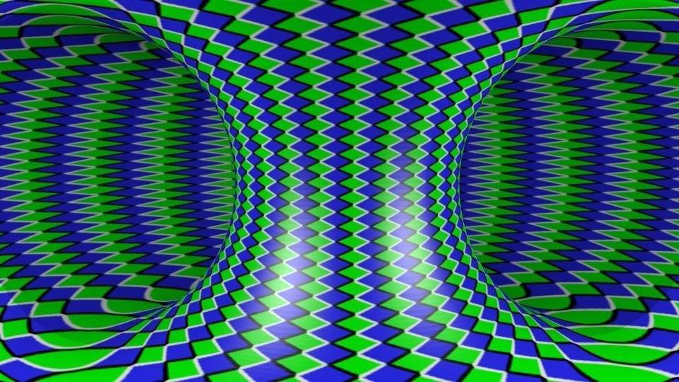 также фото картинок обман зрения представляет собой блестящий