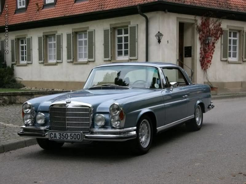 Mercedes W111 In 906 Graublau Metallic Grey Blue