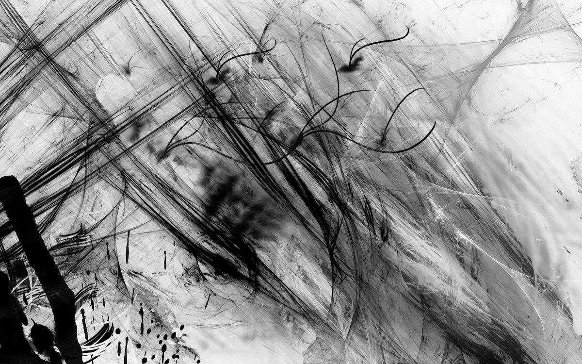 Картинки черно белое на пополам